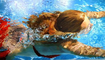 "Jeannie Maddox's ""Swimmer"" series made her a worldwide name. (Mark Sandlin / Alabama NewsCenter)"