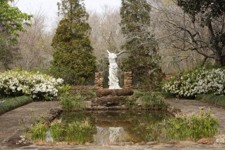 Jasmine Hill Gardens offers the visitor an abundance of beauty, both natural and manmade. It contains an impressive collection of European statues. (Meg McKinney)