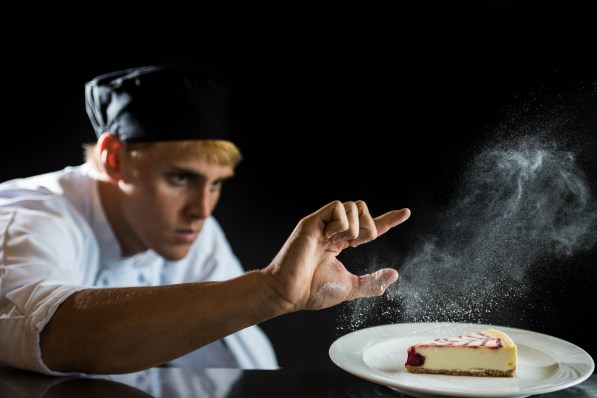 Brian Duffett of Jefferson State is the nation's top culinary student. (Phil Free / Alabama NewsCenter)