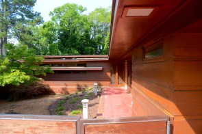 The Rosenbaum House in Florence was one of Frank Lloyd Wright's first Usonian houses, the famed architect's version of a starter home, and is considered among the most beautiful. (Karim Shamsi-Basha/Alabama NewsCenter)