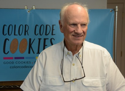Jim Turnipseed saw a need and founded Color Code Cookies to address it. (Karim Shamsi-Basha/Alabama NewsCenter)