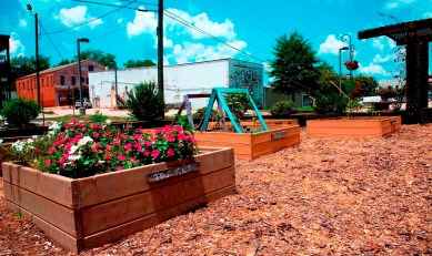 Thomasville leaders and volunteers have focused on giving the small city a lot of extras that other cities in the region don't offer. (Brittany Faush-Johnson/Alabama NewsCenter)