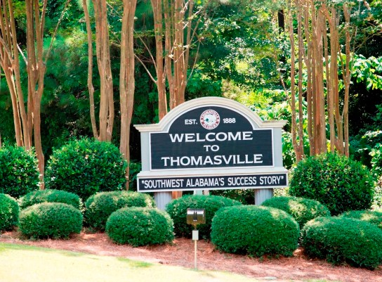 For a small city, Thomasville draws a lot of visitors. (Brittany Faush-Johnson/Alabama NewsCenter)