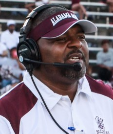 Alabama A&M coach James Spady is looking to improve on a 4-7 season. (Sidney Jackson / Alabama A&M Athletics)