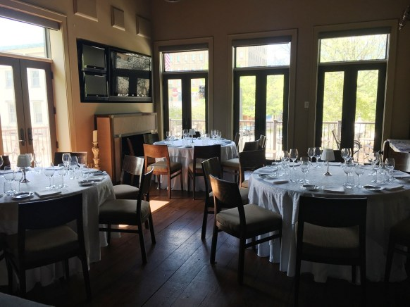 Cotton Row serves its acclaimed food and wine in several very different dining spaces. (Brittany Faush-Johnson/Alabama NewsCenter)