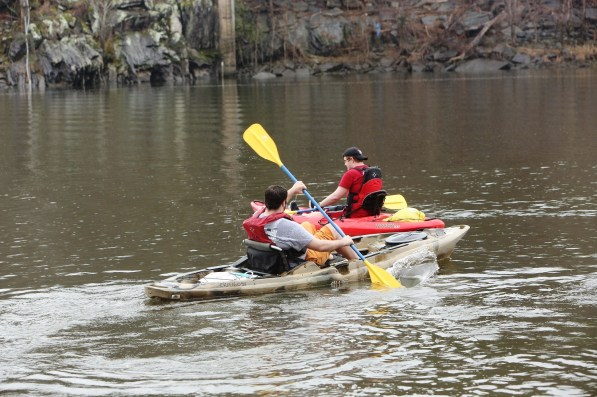 Chris Carter got the idea for Coosa River Adventures after he brought some Air Force buddies to the area for kayaking and one told him he would have paid for the experience. (Meg McKinney)