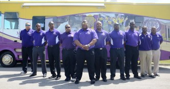 The Miles College football coaching staff wants to have a more even performance this year. (Miles Athletics)