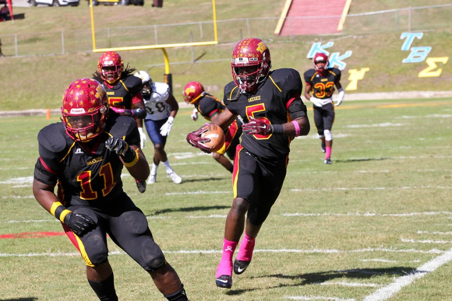 Tuskegee linebacker Osband Thompson will play a key role in this year's version of the Golden Tigers. (Tuskegee Athletics)