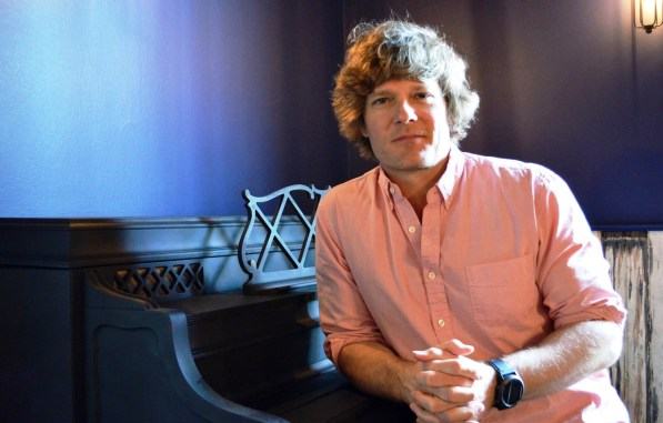 Richard Patton is bringing a lot of new life to old spaces in Opelika. (Anne Kristoff/Alabama NewsCenter)