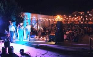 A performance at The Railyard. (Anne Kristoff/Alabama NewsCenter)