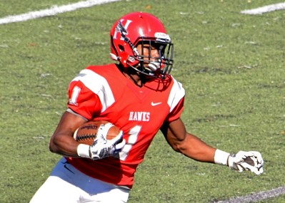 Huntingdon running back Vic Jerald is expected to step up to be the Hawks' starter this year. (Huntingdon Athletics)