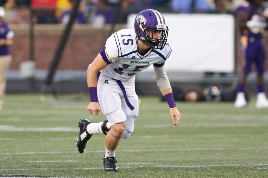 Long snapper Wil Lovelace is one of UNA's impact players this year. (Mason Matthews/UNA Athletics)