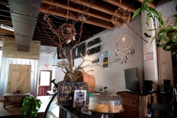 Owner Portia Fulford doesn't consider Organpi Farms Farmhouse a restaurant. It's a place for people to gather around food, she says. (Brittany Faush/Alabama NewsCenter)