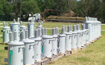 Restoring power after storms like Hurricanes Ivan and Irma is a major operation. (File)