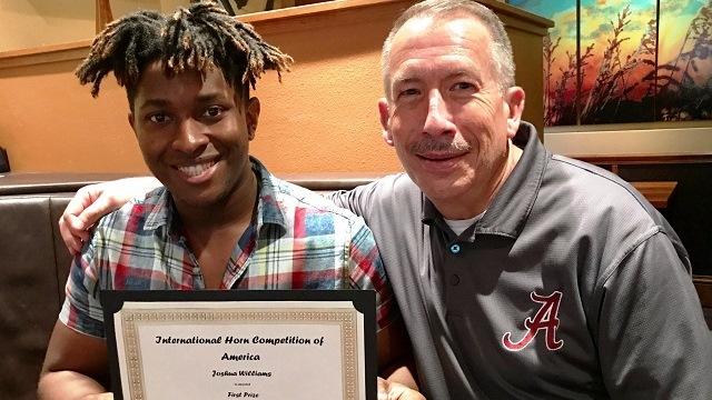 University of Alabama musician wins international competition