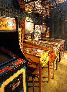 Pappas owns several pinball machines and arcade video games. (Erin Harney/Alabama NewsCenter)