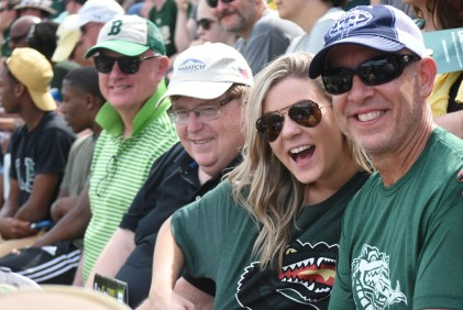 Fans were all smiles for UAB's return to football. (Solomon Crenshaw Jr. / Alabama NewsCenter)