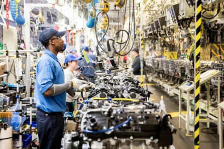 Toyota is investing $106 million in its Huntsville engine plant, adding 50 jobs. (Toyota Alabama)