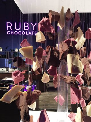 Ruby chocolate is the fourth natural color for chocolate, and the first new color in 80 years. (Barry Callebaut)