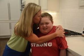 Melissa Goldsmith is proud of her son, Fuller. (Karim Shamsi-Basha / Alabama NewsCenter)