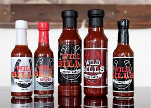 Wild Bill's has five flavors and is working on a sixth. (Brittany Faush/Alabama NewsCenter)