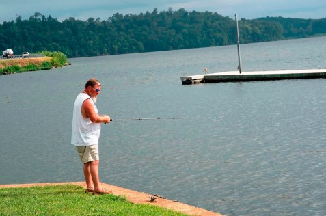Lake Guntersville has been a draw for decades, but in the past 12 years or so the city has tried to give tourists multiple reasons to spend time downtown as well. (Brittany Faush/Alabama NewsCenter)