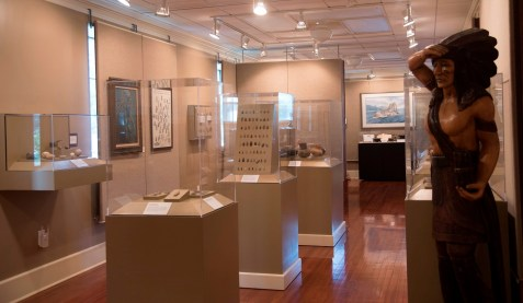 Guntersville Museum has hundreds of exhibits. (Brittany Faush/Alabama NewsCenter)