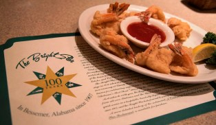 Most of The Bright Star's offerings have been on the menu for decades. (Brittany Faush / Alabama NewsCenter)