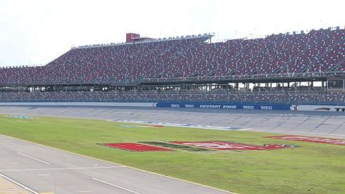 The calm before the racing storm - a glimpse of the track which will be filled with cars this weekend, (Dennis Washington/Alabama NewsCenter)