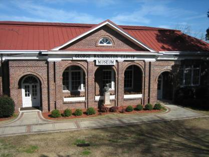 George Washington Carver Museum, Tuskegee, 2006. (Jessamyn, Wikipedia)