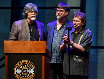 """The debut of the """"Alabama: Song of the South"""" exhibition at Country Music Hall of Fame and Museum in August 2016 in Nashville."""