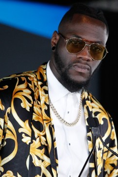 Deontay Wilder is getting used to having to adjust to late changes in heavyweight title opponents. His challengers keep failing drug tests. (Ed Diller / DiBella Entertainment)