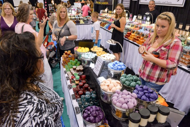 Shop over 450 exhibits offering one of a kind items, gourmet treats, latest fashion accessories and more. (Contributed)