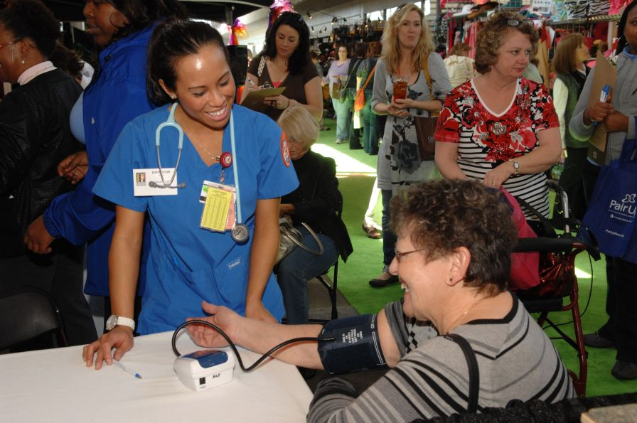 Get medical advice and free health screenings at the Southern Women's Show. (Contributed)