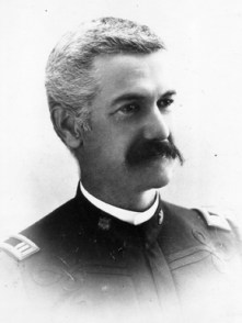 William C. Gorgas in uniform, c. 1893. Gorgas entered the U.S. Army Medical Corps in 1880 as a first lieutenant. ((From Encyclopedia of Alabama, Courtesy of the University of Alabama W.S. Hoole Specials Collections Library)