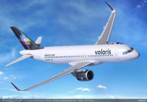 Indigo Partners' deal includes A320neo planes for Volaris Airlines. (Airbus)