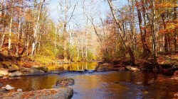 The Cahaba River in Trussville, one end of the Cahaba Blueway 'water trail.' (Dennis Washington/Alabama NewsCenter)