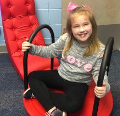 The sensory room helps children relax. (Donna Cope/Alabama NewsCenter)