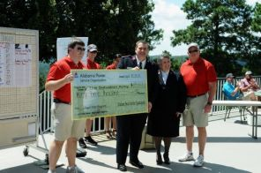 SCS and Alabama Power employees' golf tournament through APSO raised $33,000 for Angels. (Chitra Kirpalani)