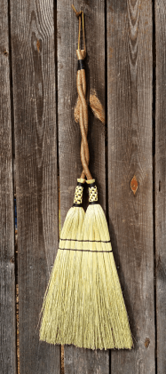 A broom by fourth-generation broom maker George Jones. (Contributed)