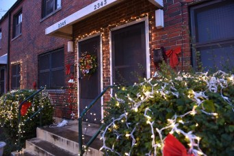 Irma and Norma Parks have decorated their Southtown Court apartment for the holidays for several years. (Frank Couch/HABD)