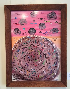 """Howard Finster would have religious visions. His art is a reflection of that; hence the term """"visionary."""" (Anne Kristoff / Alabama NewsCenter)"""