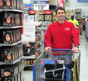 Gorgas Planning Team Leader Brian Cruse shopped. (Terri Black)