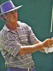 Birmingham native Hubert Green (1946-) is the most successful golfer from Alabama. He won numerous amateur and professional tournaments from the 1960s to the 1990s. (From Encyclopedia of Alabama, courtesy of The Birmingham News. Photograph by Steve Barnette)