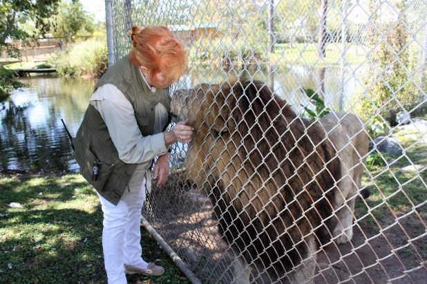 Patti Hall, director of the Alabama Gulf Coast Zoo, is seeking municipal bond funding for the zoo's new location. (Robert DeWitt / Alabama NewsCenter)