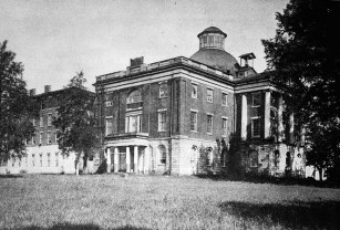 Alabama state capitol, Tuscaloosa, c. 1880. (HABS, Library of Congress Prints and Photographs Division)