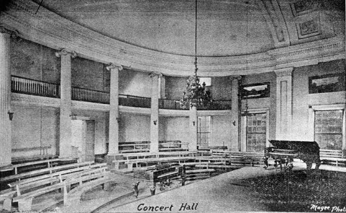 House Chamber, Alabama state capitol, Tuscaloosa. (HABS, Library of Congress Prints and Photographs Division)