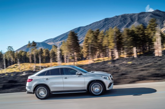 The 2017 Mercedes-AMG GLE63 S Coupe (Mercedes)