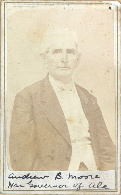"""Andrew B. Moore, """"War governor of Ala."""" (Library of Congress Prints and Photographs Division)"""