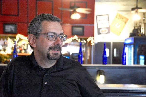 Marco Morosini is the founder of the Heart to Table program that feeds the homeless on cold nights at Boutwell Auditorium. (Karim Shamsi-Basha / Alabama NewsCenter)